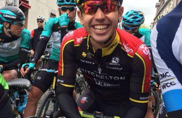 Brayan Chaves, el mejor de los colombianos en séptima etapa de Tour de Hainan