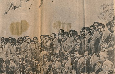 Colombia se hizo presente en la olimpiada de México 1968 con una delegación de 43 deportistas