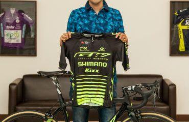 Juan Pablo Suárez estelar contratación del GW-Shimano para el 2019 (Foto GW-Shimano)