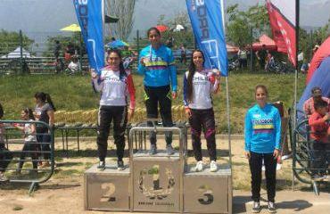 La vallecaucana Laura Ordoñez se impuso en Junior Damas en Chile (Foto BMX)