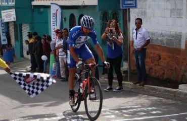 Colombiano Yeison Rincón segundo en cronoescalada en Vuelta a Guatemala (Foto Vuelta a Guatemala)