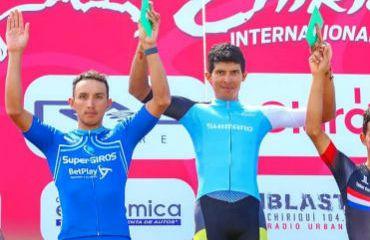 Colombiano Brayan Ramírez, segundo en CRI ganada por Yelko Gómez