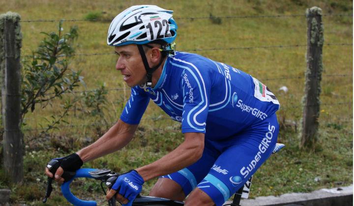 Didier Chaparro, la carta fuerte de SuperGiros para Vuelta a Chiriquí en Panamá