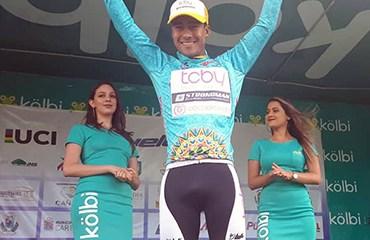 Cañaveral ganó la etapa reina en Pérez Zeledón mantuvo el dominio del Bicicletas Strongman en la ronda tica
