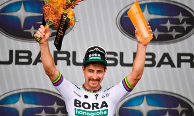 Peter Sagan, ganador de la tercera etapa del Tour Down Under