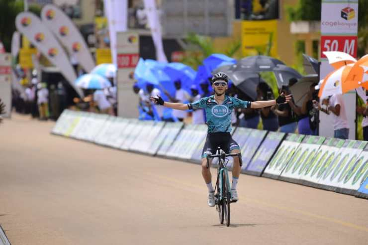 Alan Boileau ganador segunda Etapa Tour de Rwanda