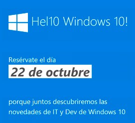 ven a windows 10: hel10 word! y descubre todo el potencial de la universal windows platform