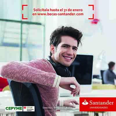 los universitarios españoles ya pueden solicitar una de las 5.000 becas santander de prácticas en pymes
