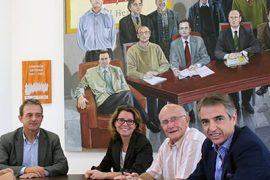 "La UMH constituye la Cátedra Institucional del Calzado ""San Crispín"" 1"