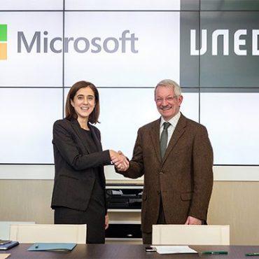 la uned y microsoft colaboran para impulsar la transformación digital en la educación a distancia a través del proyecto europeo eco