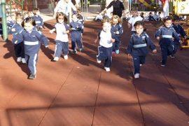 kilómetros solidarios para luchar contra la desnutrición en el día universal del niño
