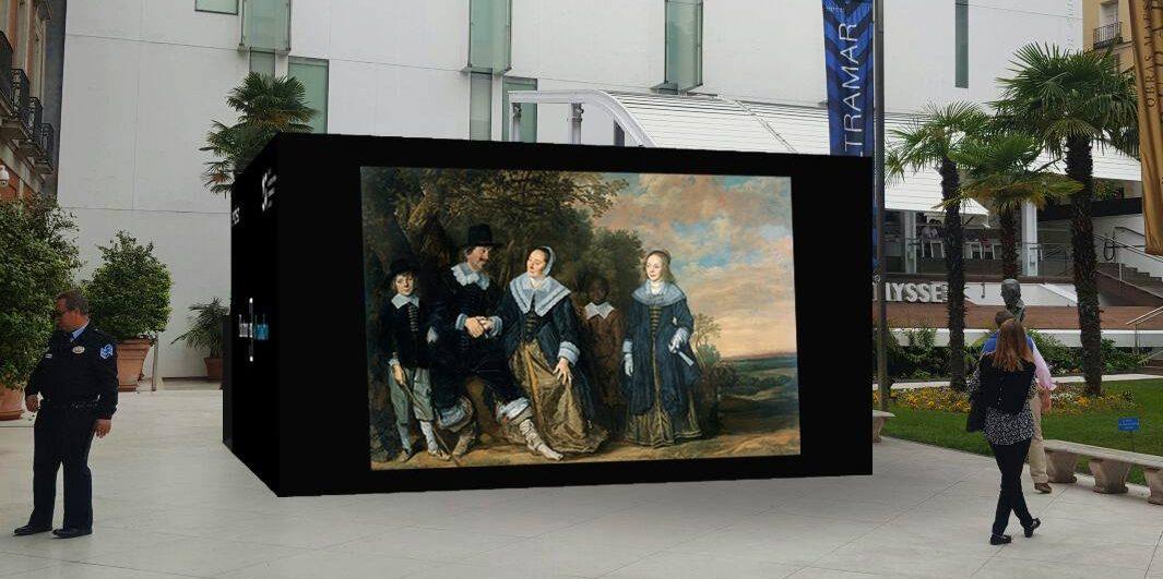 la aventura de entrar en los cuadros del museo thyssen