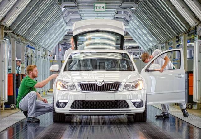 estreno europeo en el iaa para el prototipo Škoda  vision e