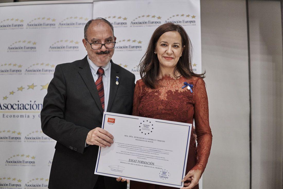 essat formaciÓn recibe la medalla de oro europea
