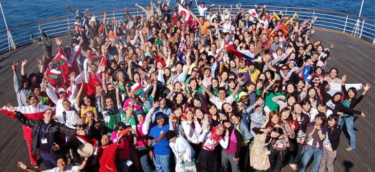 doce españoles, seleccionados para el barco de la juventud mundial