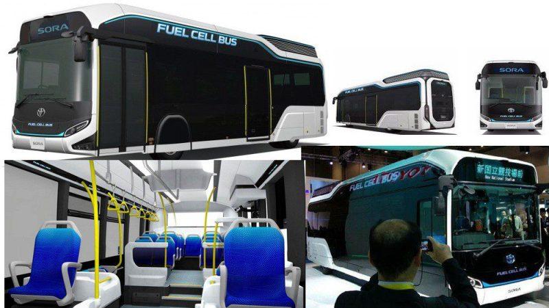 toyota muestra las posibilidades de los vehículos de pila de combustible con dos nuevos prototipos