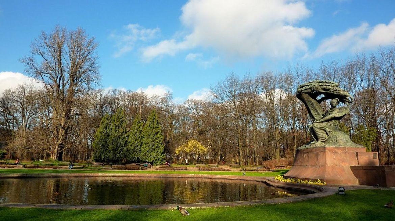 lazienki parque