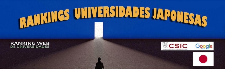 ranking web de universidades :  japón