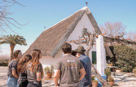 46 alumnos construyen la barraca del siglo XXI