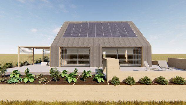 Construyen la barraca del siglo XXI