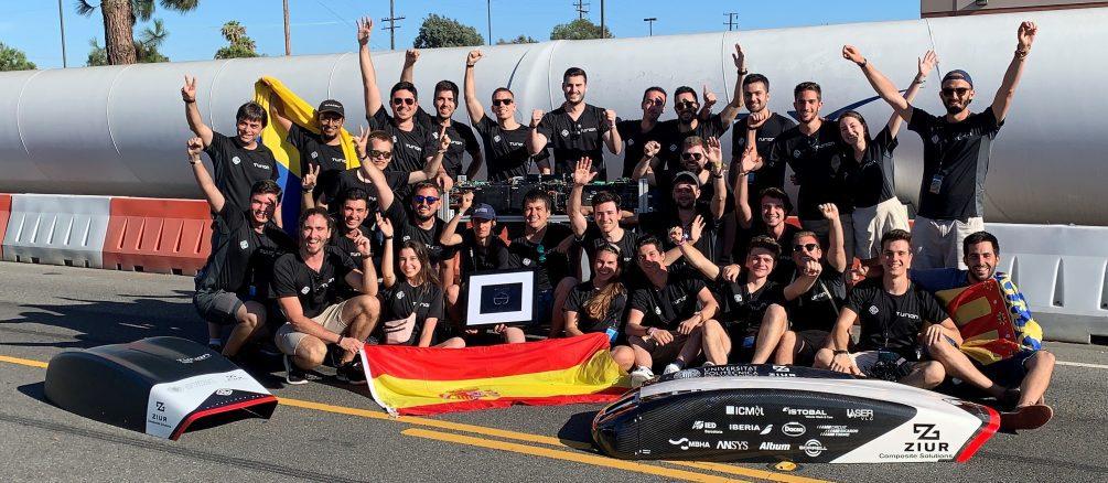 hyperloop pod competition para el equipo upv