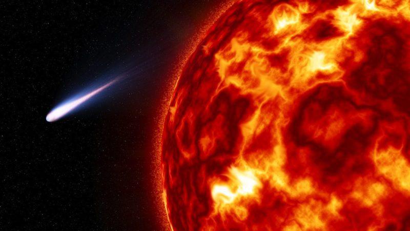 Cometas vienen cerca del sol