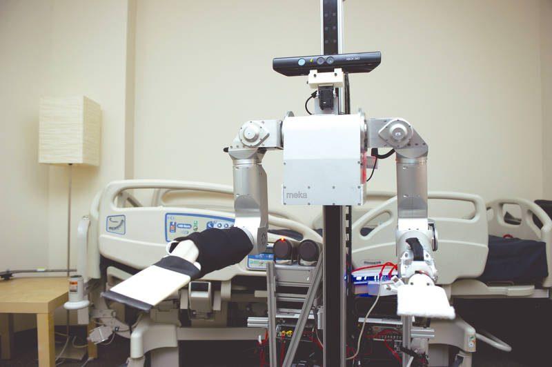 Los robots Hospital Stanford