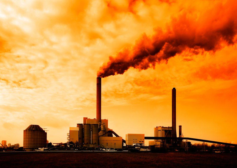 contaminación de químicos industriales