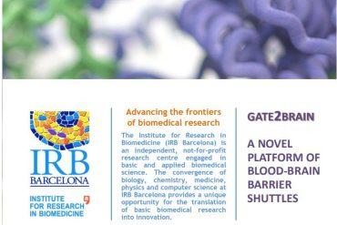 irb -transportar fármacos al cerebro y mejorar su eficacia