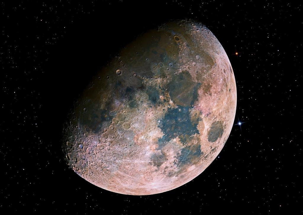 la luna 85 millones de años más joven