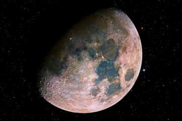 Luna mas joven