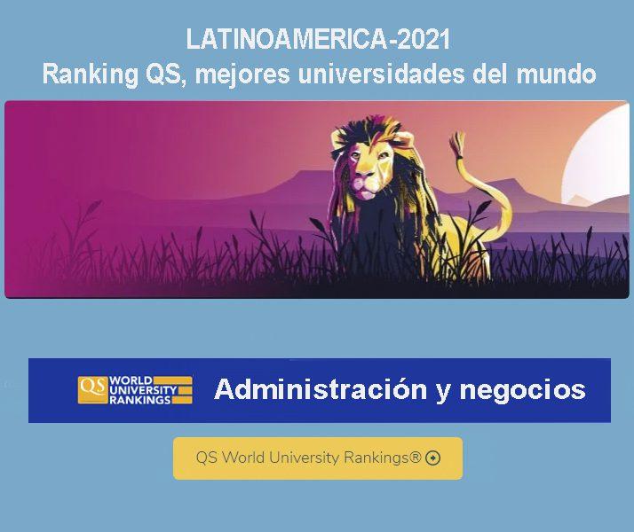universidades latinoamericanas en administración y negocios