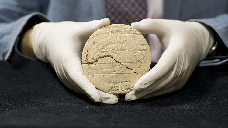 Una tablilla babilonica ejemplo geometria mas antiguo1