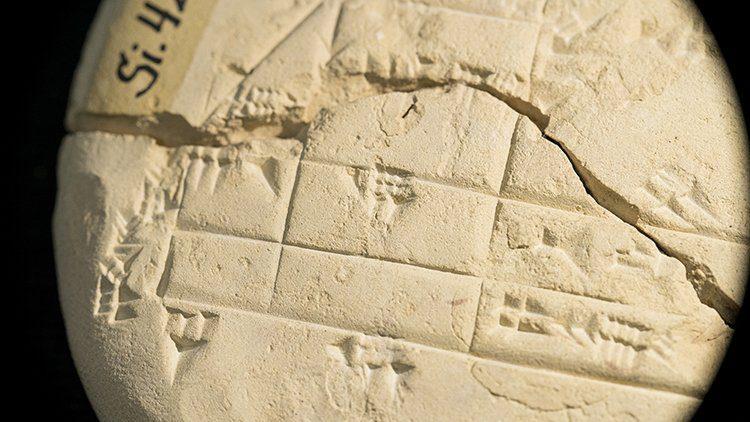 Una tablilla babilonica ejemplo geometria mas antiguo2