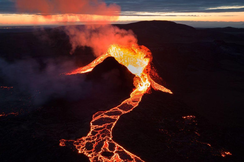 Las matematicas de los volcanes