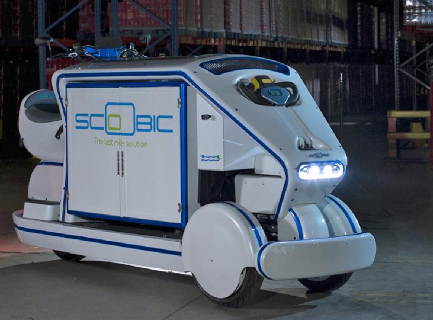 scoobic vehiculo reparto electrico