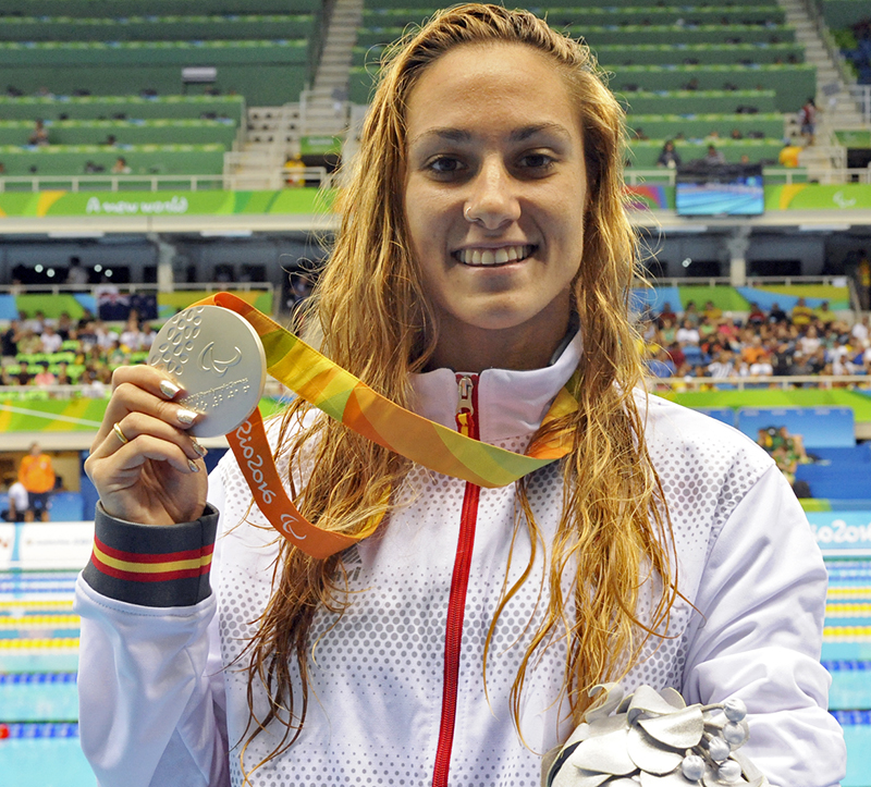 Sarai Gascón medalla de plata en 200 estilos SM9 JJPP Rio