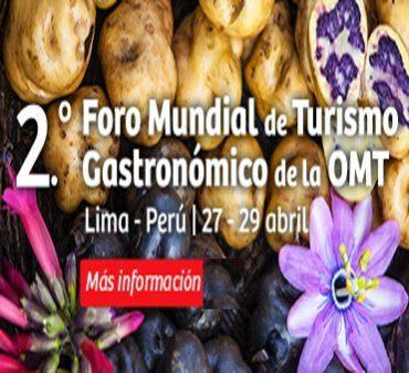 peru, ii foro mundial de turismo gastronómico de la omt