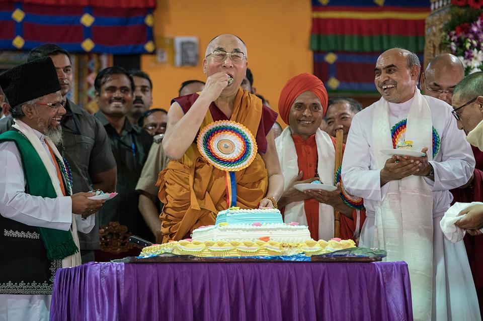 cumpleaños 81 de Dalai Lama en India