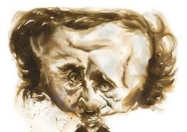 CARICATURA Menção honrosa - Espanha - Pablo Pugliese - Pugliese - Edgar Allan Poe