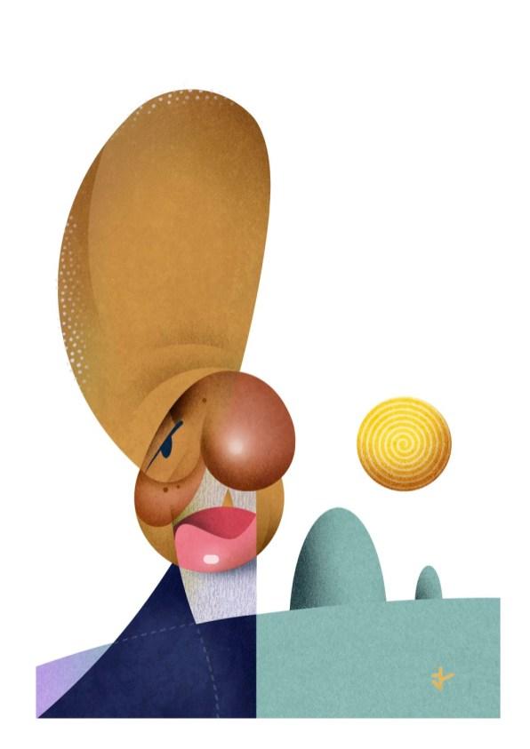 2º lugar caricatura Aldeguer (ESP)