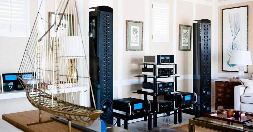 Altavoz McIntosh XRT1.1K: sonido de lujo para el hogar