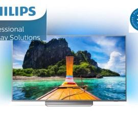 Philips Professional Display Solutions amplía la garantía para productos de TV Profesional a tres años