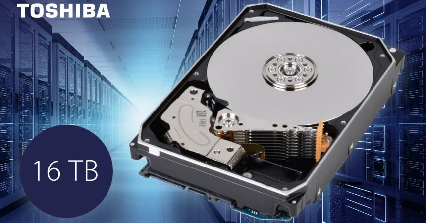 Toshiba presenta sus nuevos discos duros de 16 TB