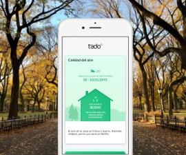 tado° actualiza su app que nos aconseja cómo mejorar la calidad del aire dentro de casa
