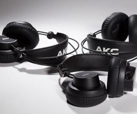AKG professional ofrece tres nuevos auriculares con calidad de estudio