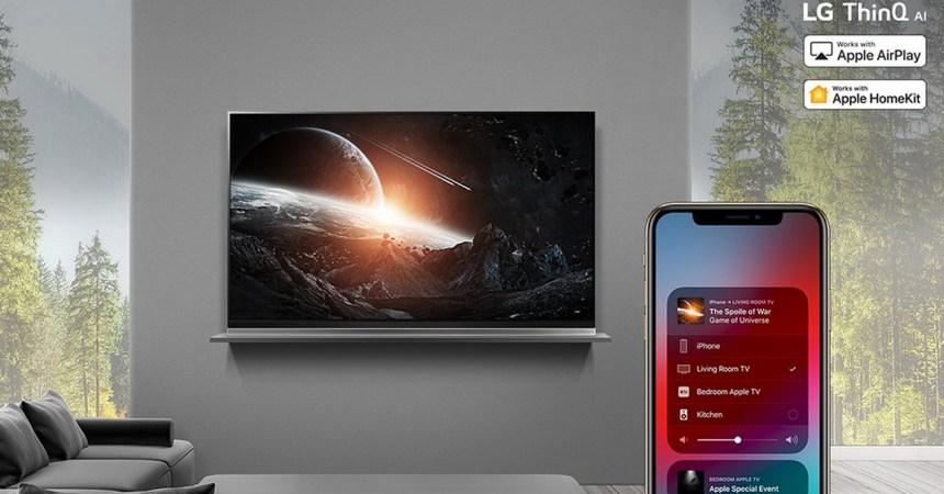 televisores de LG trabajarán con Airplay 2 y HomeKit