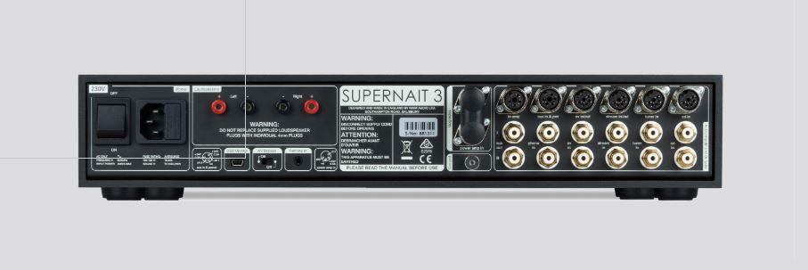 Naim Nait XS3 y Supernait 3
