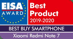 EISA-Award-Xiaomi-Redmi-Note-7