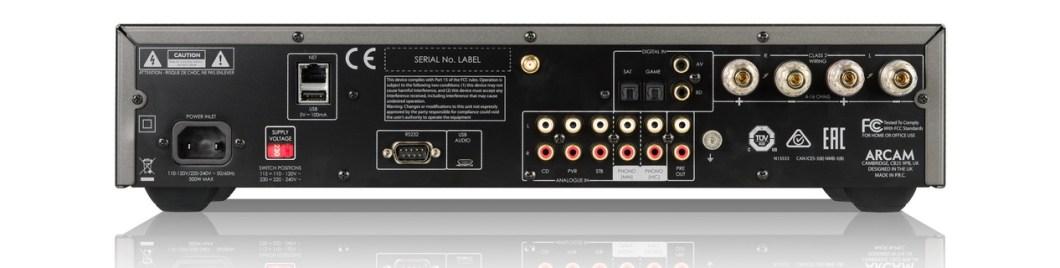 Arcam SA30, amplificador integrado con corrección acústica
